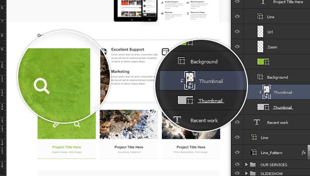 22%20PSD%20Files%20Included Jungle   Responsive Multi Purpose WordPress Theme