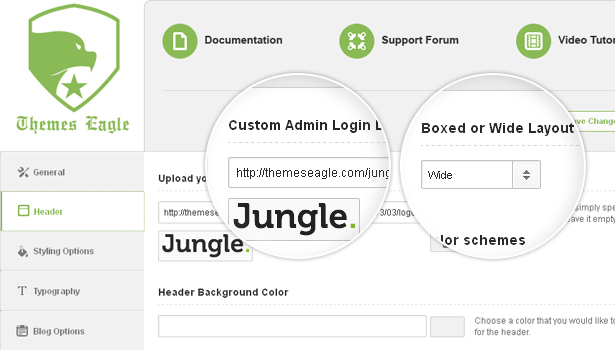 Advanced%20Theme%20Options%20Panel Jungle   Responsive Multi Purpose WordPress Theme