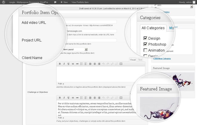 Custom%20Post%20Type Jungle   Responsive Multi Purpose WordPress Theme