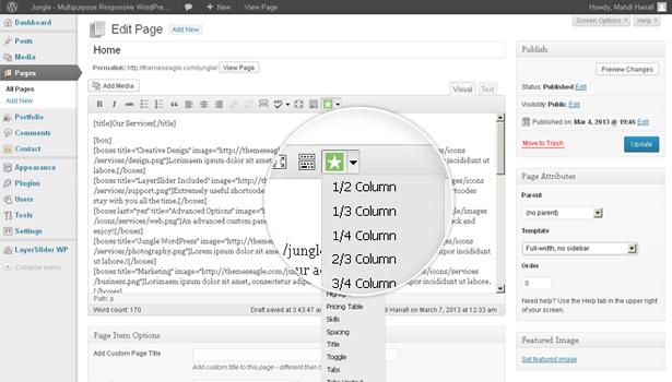 Custom%20Shortcodes Jungle   Responsive Multi Purpose WordPress Theme
