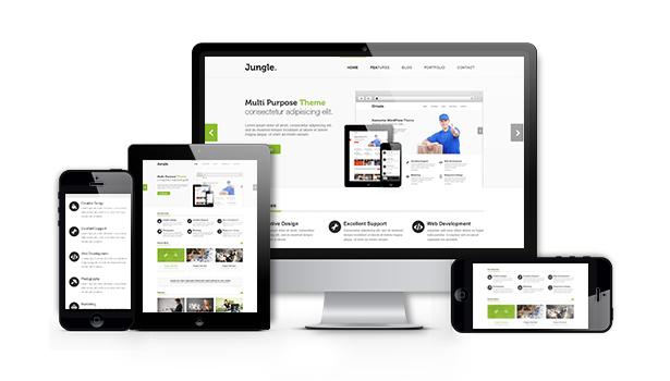 Fully%20Responsive%20Design Jungle   Responsive Multi Purpose WordPress Theme